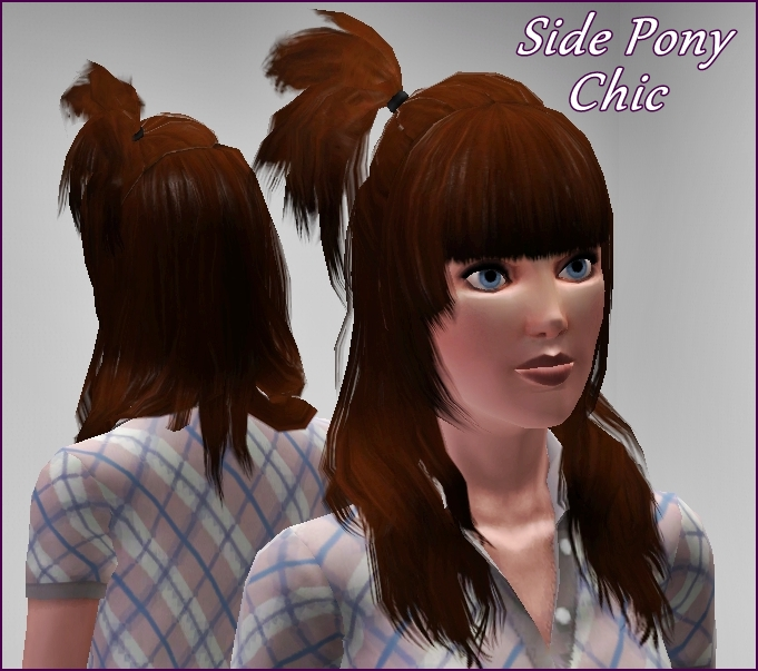 The Sims 3 EA Store: Show Stopping Hair Styles/  See In Game Captures Here:  (3/6)