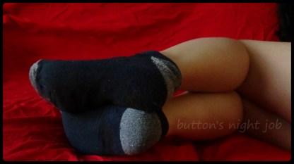 Socks, black grey_edit