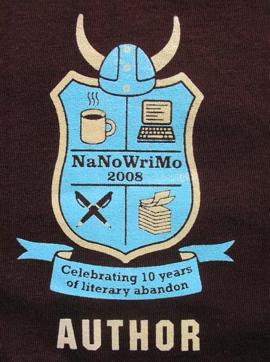 nanowrimoshirt