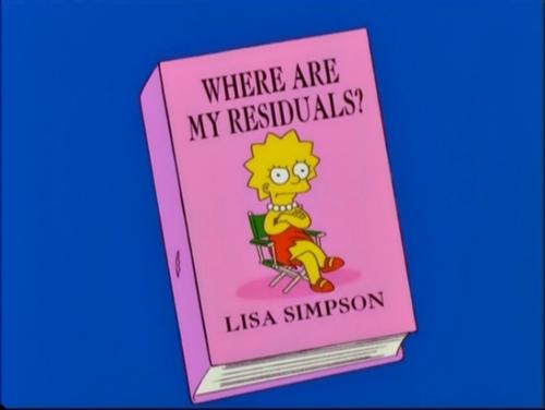 I love The Lisa Simpson Book Club