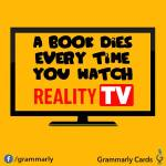 Why reality TV is great for writers