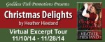 #HumpDayReviews + giveaway: Christmas Delights by Heather Hiestand