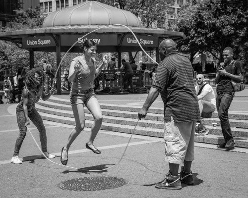 If you're doubly cool, you can double dutch. (image by Flickr user John St John)