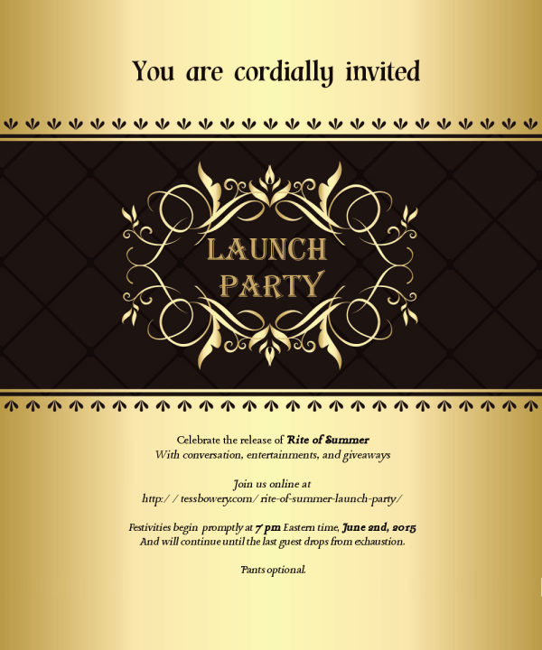 launch invite