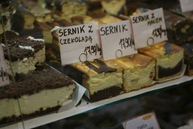 """Good, creamy Polish desserts"" image by Flickr user Douglas LeMoine"