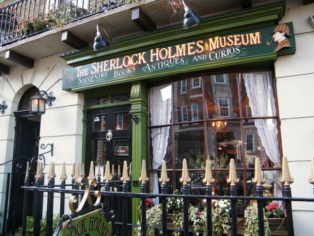 """Sherlock Holmes Musem"" by Flickr user Kate"