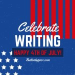 Celebrate Writing: writing goals, week 26