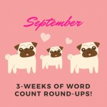 Triple word scores: writing goals, weeks 35-37