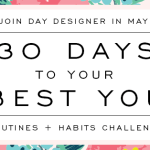 Another 30-day challenge?! Why I'm taking the Day Designer May Challenge