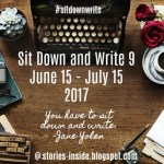 "Try the ""Sit Down and Write"" Challenge, June 15-July 15"