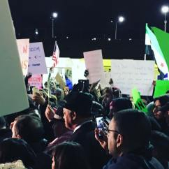 Night two of protests at O'Hare Airport