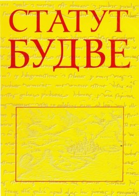 Statut Budve - naslovna