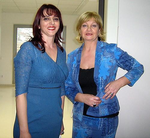 Irena Medigovic i Branka Cvorovic