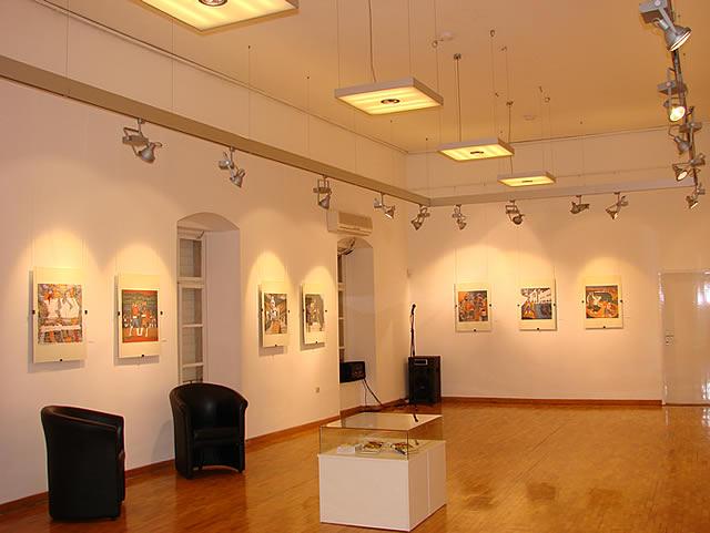 Izlozba u Modernoj galeriji u Budvi - 1