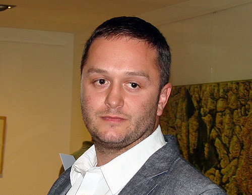 Abaz Dizdarevic na otvaranju izlozbe