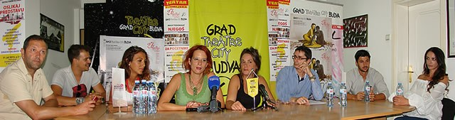 Press povodom premijere predstave Njegos za pocetnike