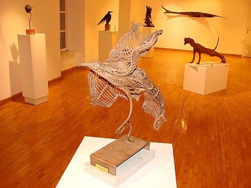 Izlozba skulptora Rajka Susica - 1