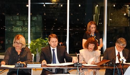 Potpisivanje ugovora o osnivanju muzeja Stevana Luketica