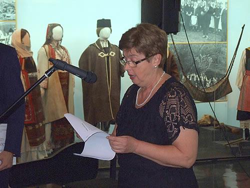 10 Autorka izložbe dr Mila Medigović-Stefanović