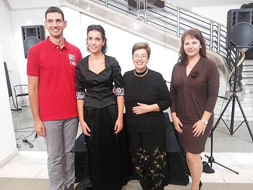 8 Dušan Medin, Hana Alivodić, Mila Medigović-Stefanović i Ivana Stanković