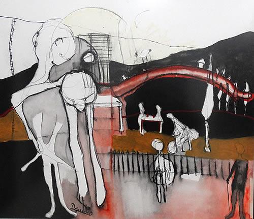 Gradska galerija Kotor - Izlozba slika Dijane Lazovic - 1