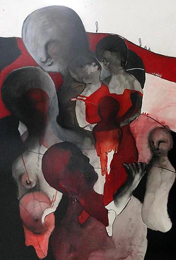 Gradska galerija Kotor - Izlozba slika Dijane Lazovic - 2