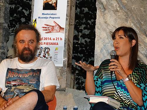 Miljenko Jergovic i Ksenija Popovic