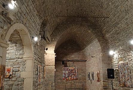 Grad teatar Budva - Izlozba Nikole Radovica