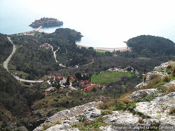 Panoramski pogled sa vrha Celobrda