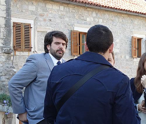 Posjetioci ispred crkve Santa Maria - 7