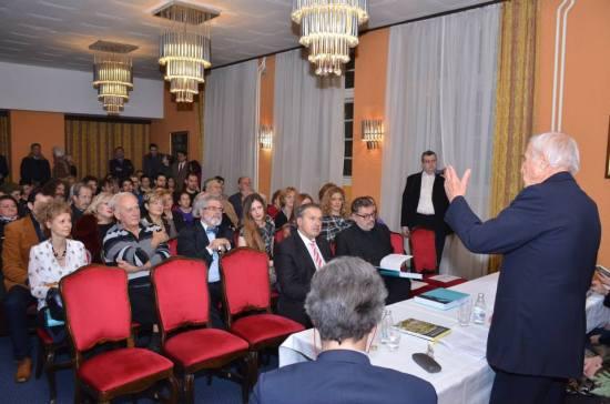 Promociji knjiga prosustvovao je i Branislav Mićunović, ambasador Crne Gore u Srbiji