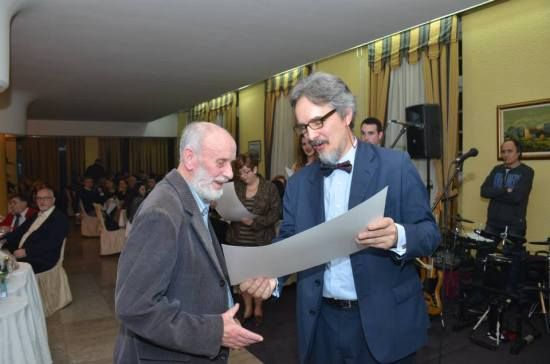 Zlatna zahvalnica se uručuje Mitru Mitroviću