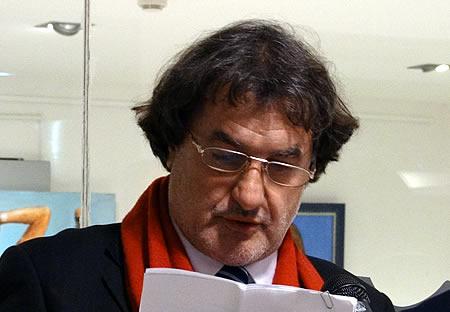 Dragan Mihovic - Otvara izlozbu Ivice Arandjusa