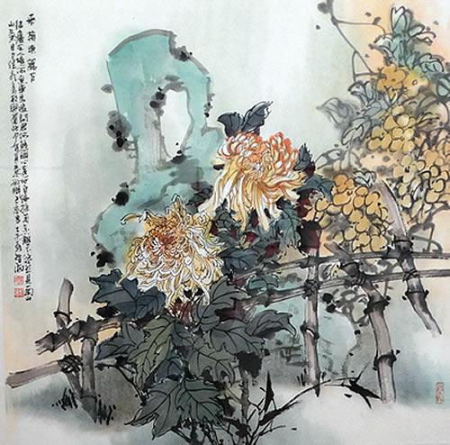 Budva - Izlzba kineskih umjetnika - 1