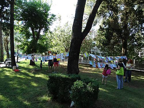 Gradski park - Izlozba djecijih radova - 1