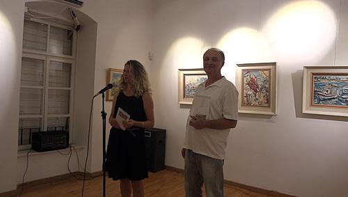 Moderna galerija Budva - Otvaranje izlozbe Zorana Andrica