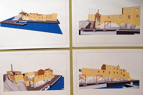 Digitalni prikaz Lazareta i Kastela - 1