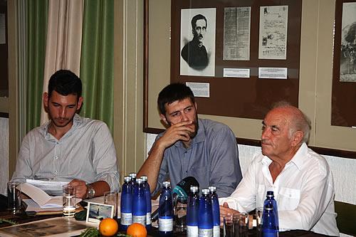 Dušan Medin, Goran Pajović i Petar Perović