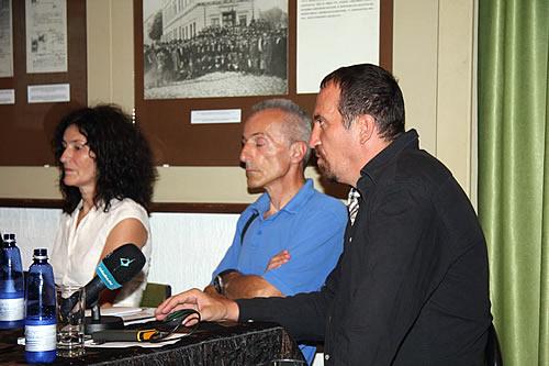 Učesnici Dobrila Vlahović, Žarko Milošević i mr Mladen Zagarčanin