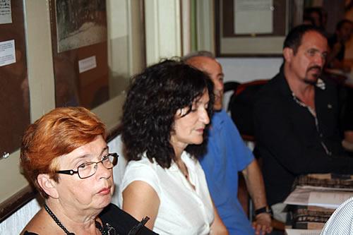 Učesnici - dr Mila Medigović Stefanović, Dobrila Vlahović, Žarko Milošević i mr Mladen Zagarčanin