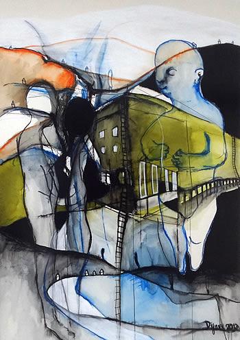 Podgorica - galerija Art - Izlozba Dijane Lazovic - 14