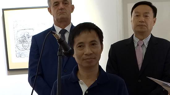 Zamjenik direktora muzeja Secuan