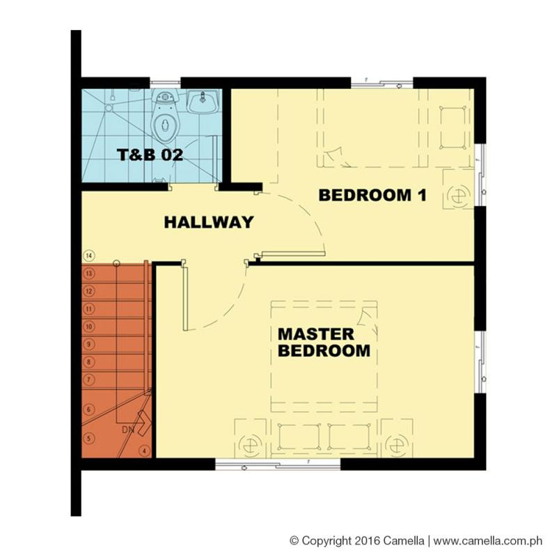 bella 2nd floor plan
