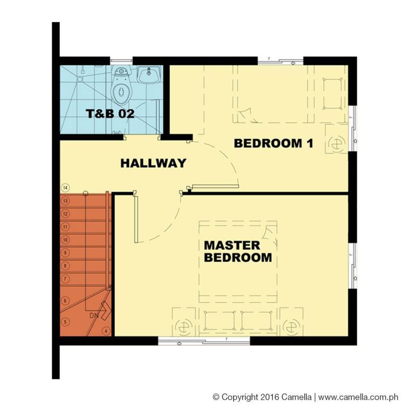bella 2nd floor plan