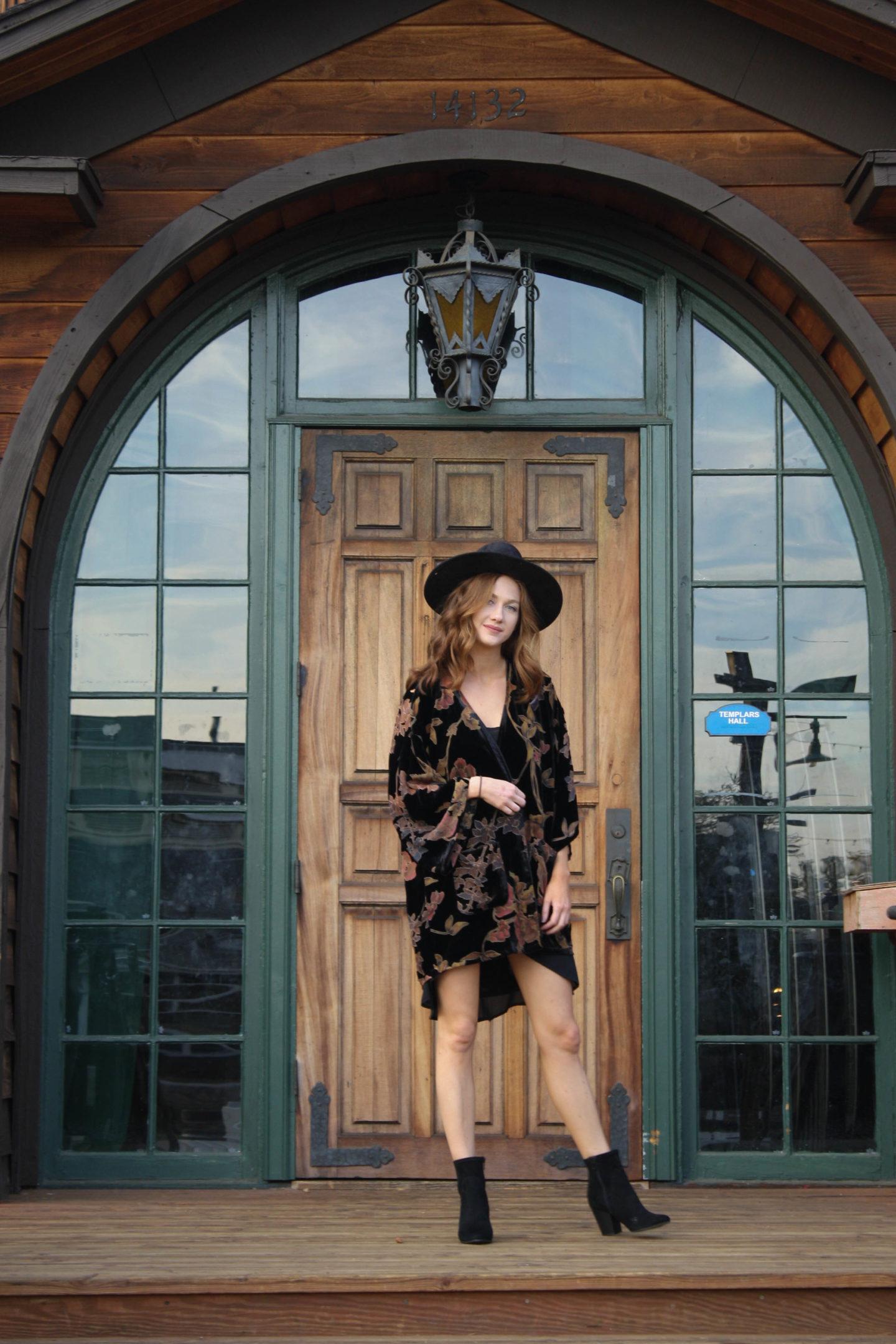 But what should i wear blog floral velvet outfit-1