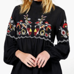 Embroidered long sleeve from boohoo