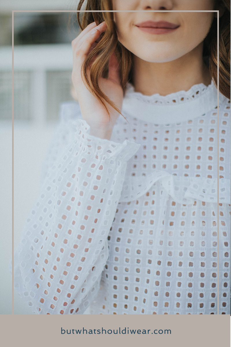 PInterest - SUmmer eyelet trend with Target - But What SHould i wear 3