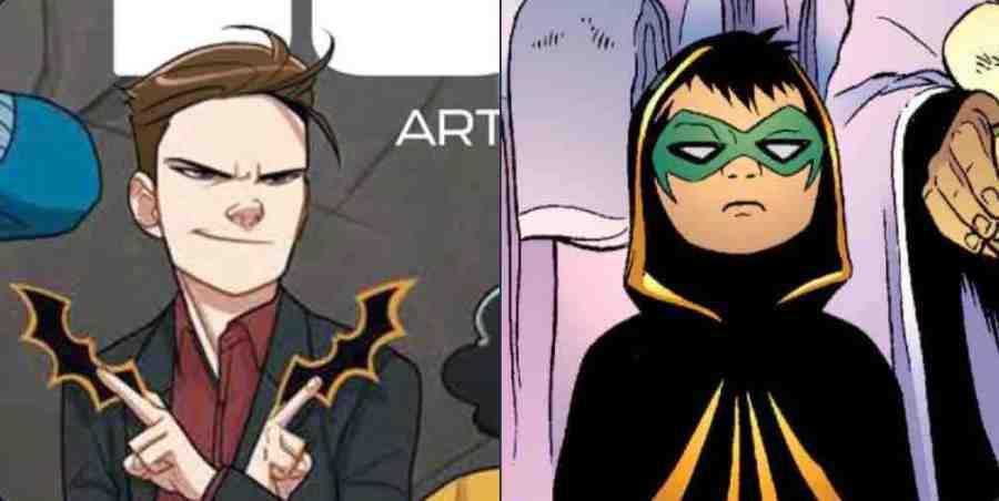 Damian Wayne Isn't White- But Why Tho?