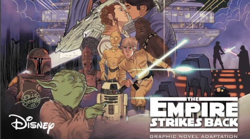 Star Wars Empire Strikes Back Graphic Novelization