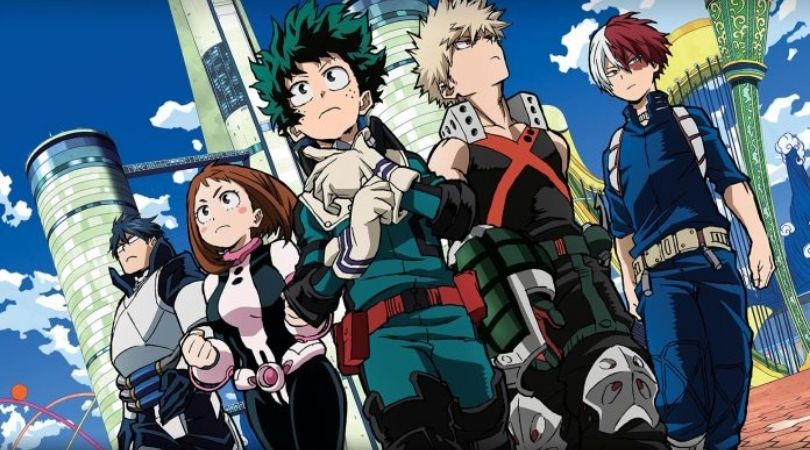 my hero academia two heroes - But Why Tho